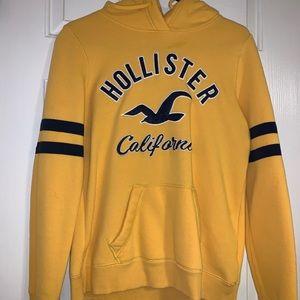Yellow Holister Sweatshirt